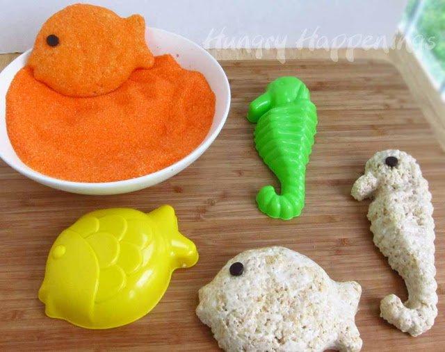 sea animal desserts
