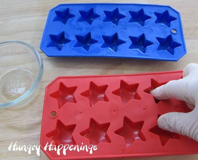 Homemade Red White And Blue Gumdrop Stars Hungry