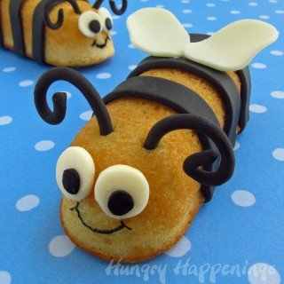 Snack Cake Stingers – Hostess Twinkie Bumble Bee Treats
