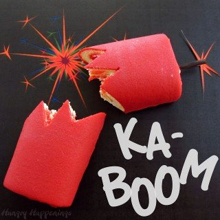 Need a last minute dessert for 4th of July? Make Ka-Boom Kakes.