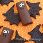 Halloween-edible-craft-recipes-snack-cake-bat-Ho-Ho-bats-Swiss-Roll-bat-treats-