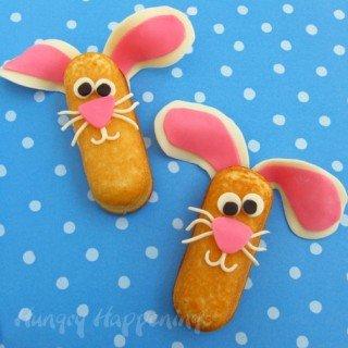 Twinkie Snack Cake Bunnies