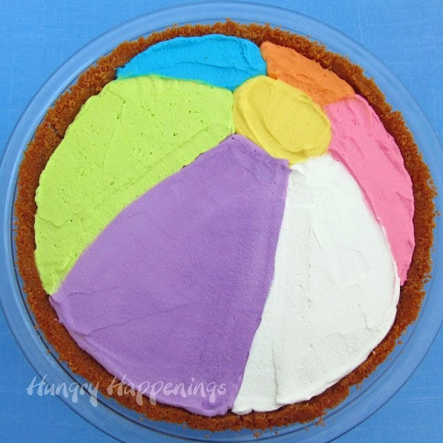 beach ball pie