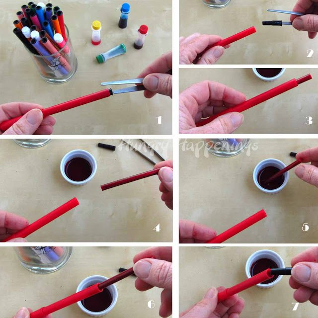 how to get food coloring off