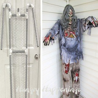 Build a Halloween prop using a costume and pvc plus a costume giveaway.