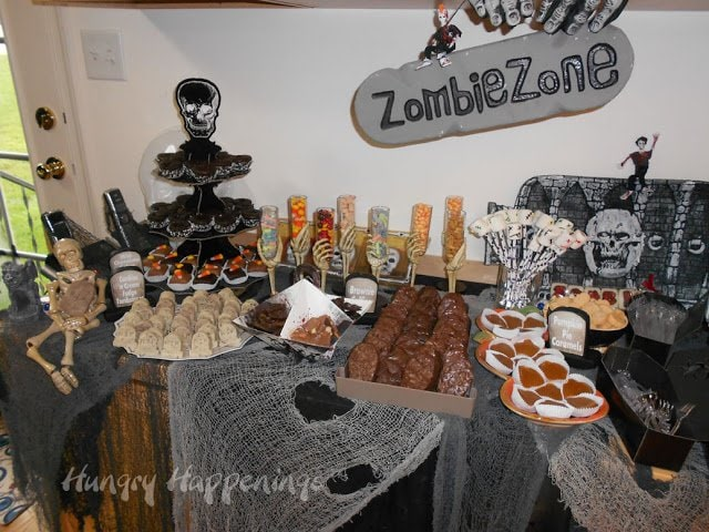 Zombie Desserts for a Zombie Party