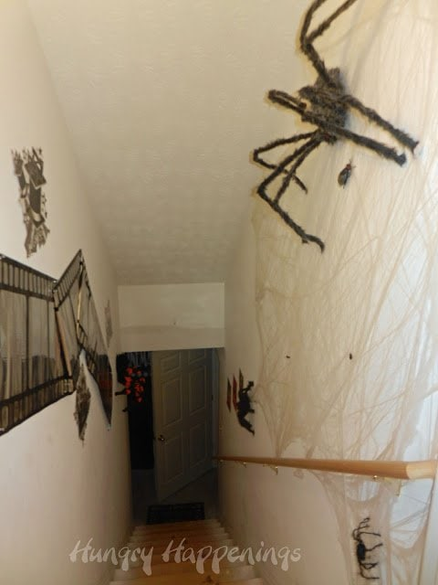 Hairy Spider Decorations