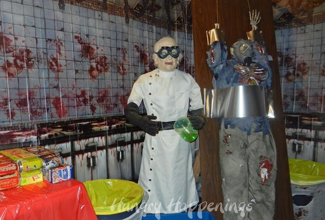 Mad Scientist Halloween Party Decorations