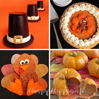 A recap of the Thanksgiving edible craft recipes from Hungry Happenings.