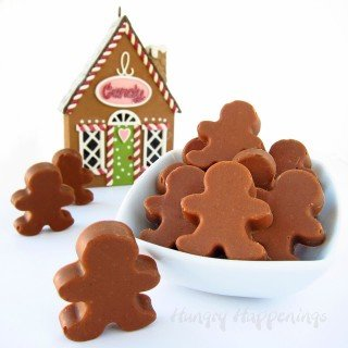 Gingerbread Man Truffles – cute little treat for the holidays.