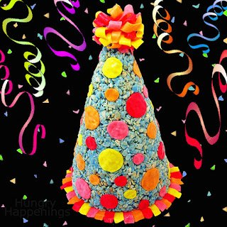 Rice Krispies Treat Party Hat