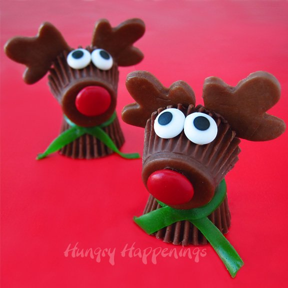 Reese's Cup Rudolph the Red Nose Reindeer