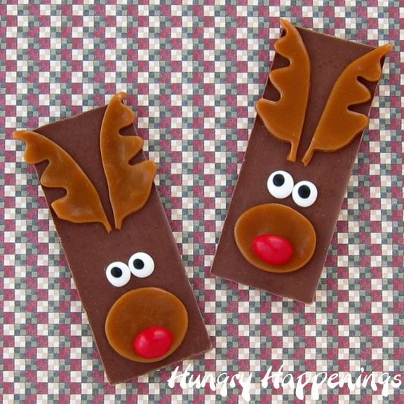 Rudolph The Red Nose Reindeer Candy Bars Fun Christmas Candy