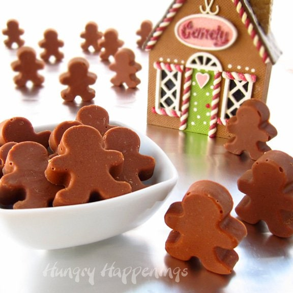 gingerbread truffles makes 24 gingerbread man truffles cute little ...