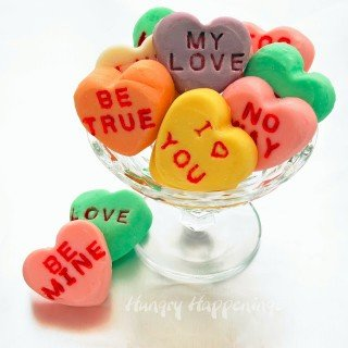 Conversation Heart Fudge – A sweet Valentine's Day Candy Recipe