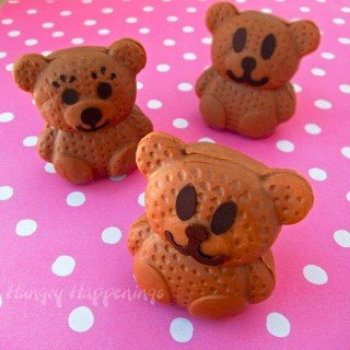 Sweet Little Caramel Chocolate Fudgy Bears