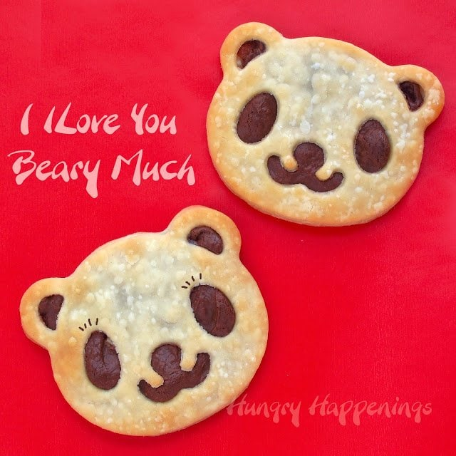 Send your significant other an adorable message with these Panda Pastries as you make them for some breakfast in bed. But then eat them later for dessert, two birds with one stone if I've ever heard of one.