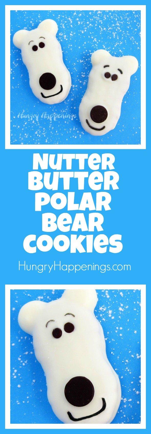 nutter-butter-polar-bear-cookies