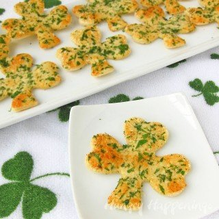 Shamrock Shaped Snack Crisps inspired by a Reader's Photo