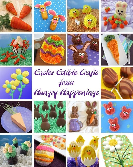 Looking for some recipes to make for Easter this year? Here are some of my Easter Edible Crafts, they are perfect to add some fun to your family get together!