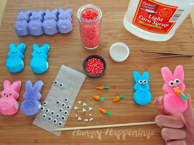 Peeps are a traditional candy the Easter Bunny brings on Easter! Make this Peeps Recipe - Raiding the Carrot Patch Peeps Pudding to add a little something extra to your Easter Baskets! Your kids will go as wild as these bunnies for this delicious treat.