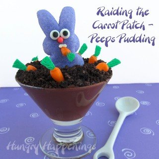 Peeps Party – Raiding the Carrot Patch Peeps Pudding