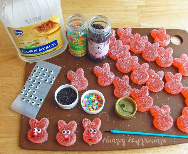 If you love Sour Patch Kids you are going to absolutely love these Homemade Sour Gummy Bunnies! They are a great Easter Basket treat and they don't have all the chemicals in store bought candies!