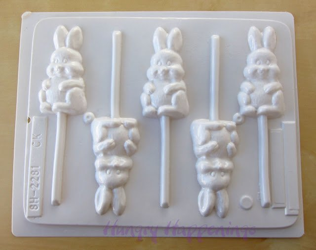 hard candy bunny mold, hard candy Easter bunny mold, hard candy Easter mold