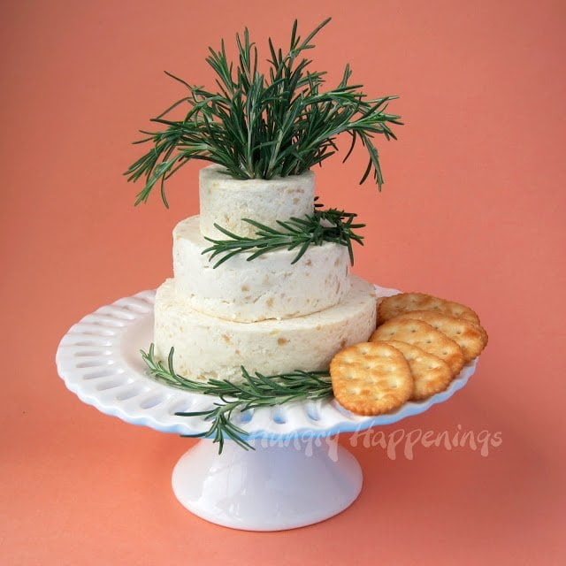 Wedding Cake appetizer Cheese Ball