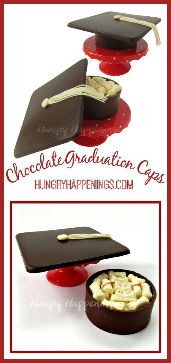 These Chocolate Graduation Cap Boxes are a great way to say congratulations to your child! Fill this treat with candy, cash, or anything you think they'll like.