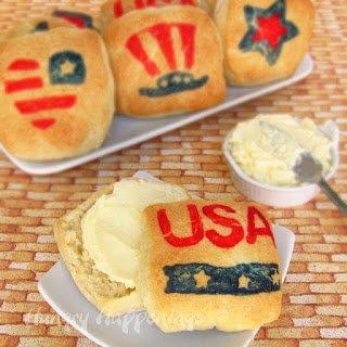 Patriotic Biscuits