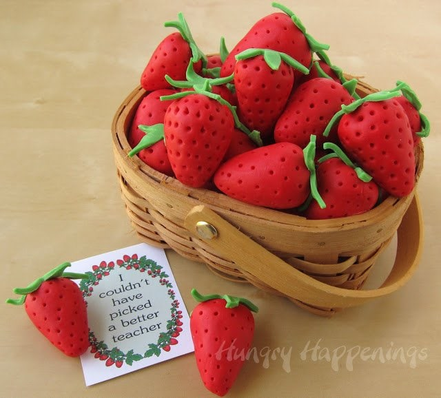 Strawberries And Cream Berry Baskets