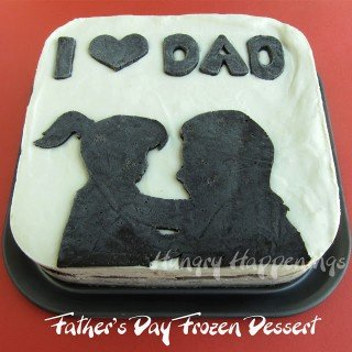 Father's Day Dessert Recipe – Cookies and Cream Frozen Dessert