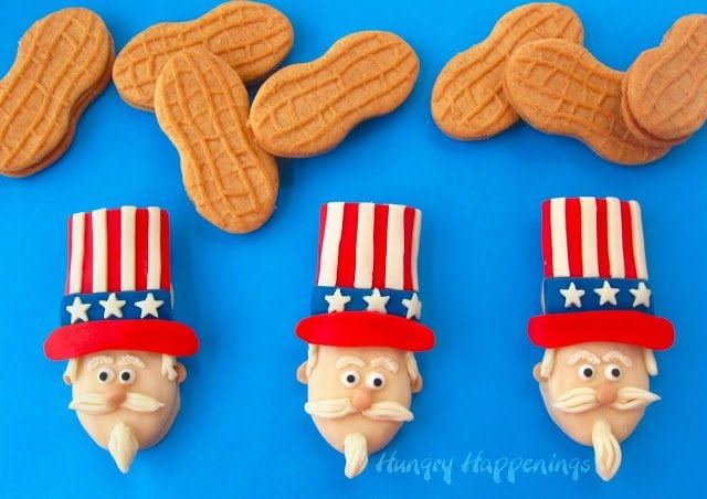 Uncle Sam Nutter Butter Cookies