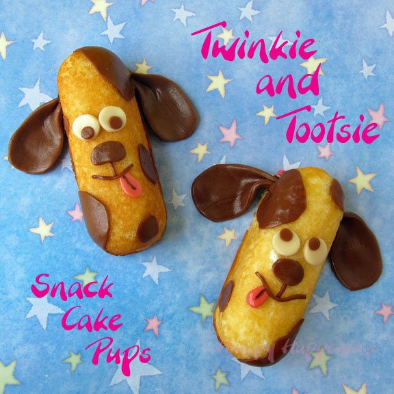 Twinkie Snack Cakes Puppies