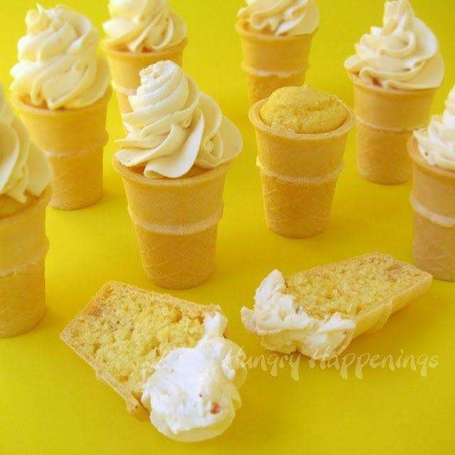 Summer Appetizers - Savory Ice Cream Cones