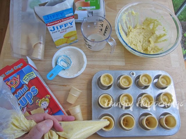 how to make Savory Ice Cream Cones