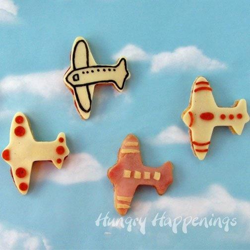 Airplane Pizzas