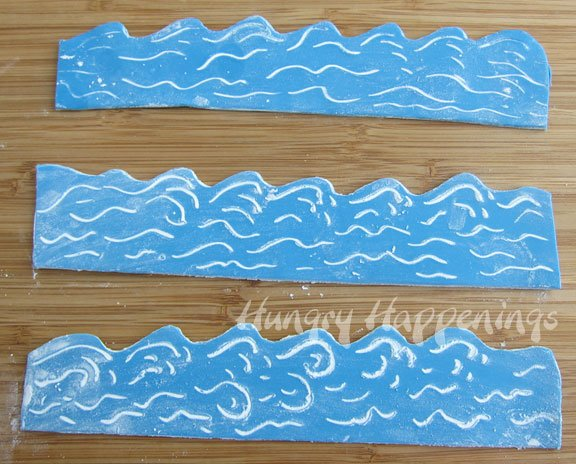 sea themed Edible Cupcake Wrappers