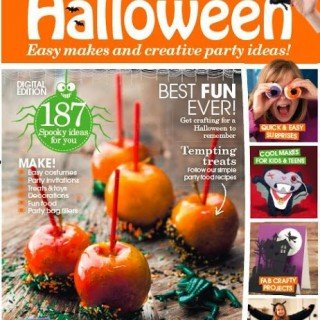 Handmade Halloween Magazine featured my Halloween Recipes