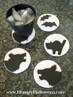 halloween coaster crafts