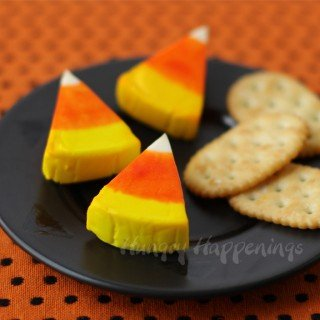 Laughing Cow Candy Corn Cheese