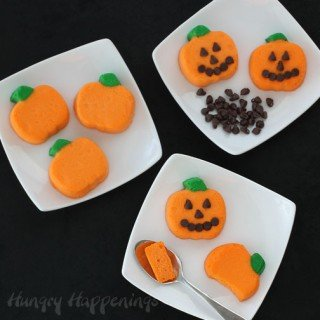 Mini Cheesecake Pumpkins – Halloween Recipes