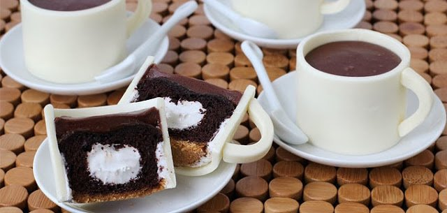 Why not have an adorable treat to go to match your favorite morning beverage! These S'mores Coffee Cup Cupcakes and Fondant Cupcake Toppers are amazingly delicious and perfect for any occasion.