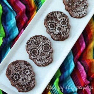 Sugar Skull Brownies – perfect dessert to celebrate Day of the Dead