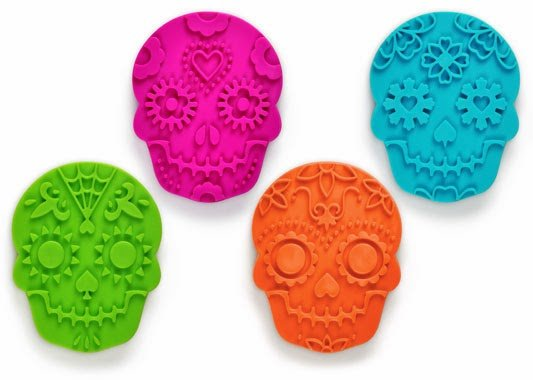 Sugar Skull Cookie Cutter and Stamp