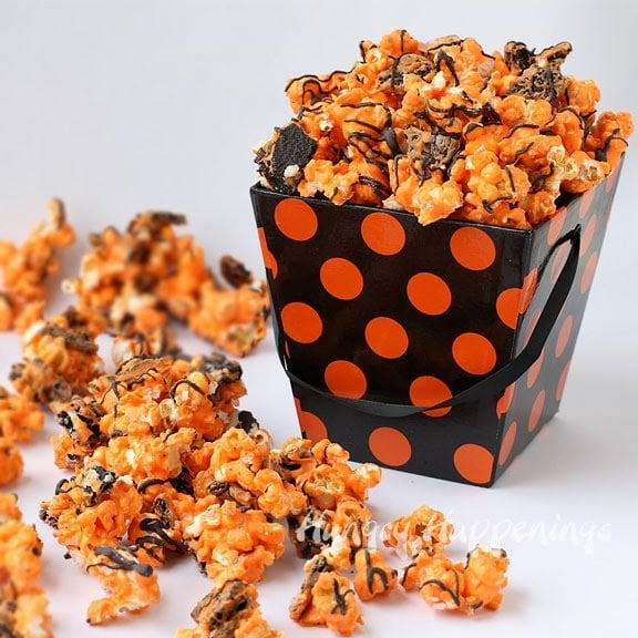 my white chocolate popcorn was one of my most popular items in my candy stores and people always commented on how much they liked the salty and sweet - Black And Orange Halloween