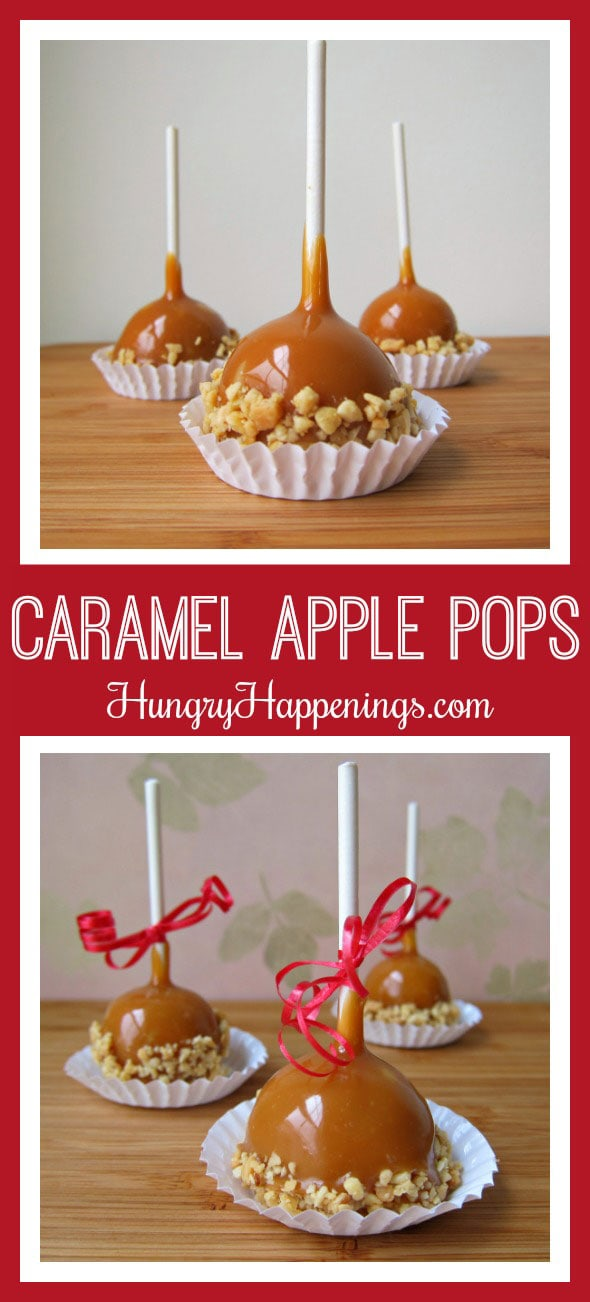 Enhance your caramel apples this fall and make theseCaramel Apple Fudge Pops. After you get a taste you'll be asking Santa for a tree that grows these treats on them.