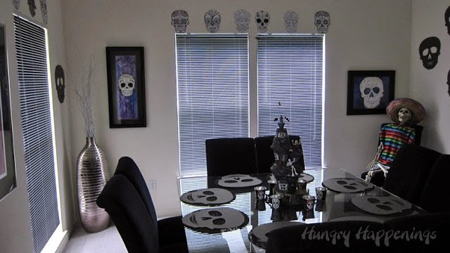 Decorate your house for the Day of the Dead