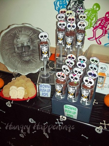 Day of the Dead Skull Desserts